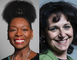Baroness Floella Benjamin DBE and Julie Elliott MP